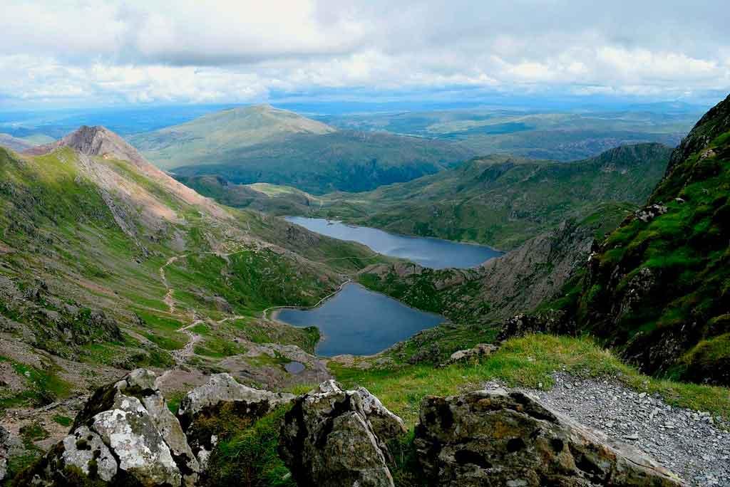 País de Gales belezas naturais