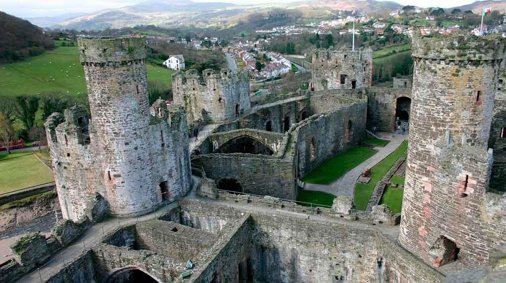 País de Gales castelos