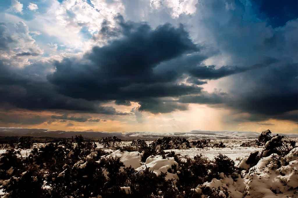 País de Gales inverno