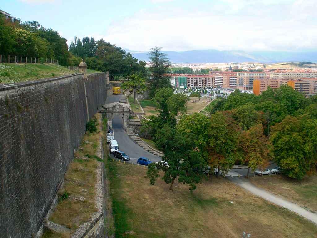 Pamplona Espanha Portal de Francia