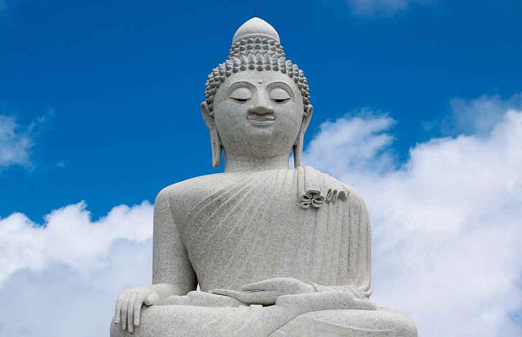 Phuket Tailandia monumento do grande buda