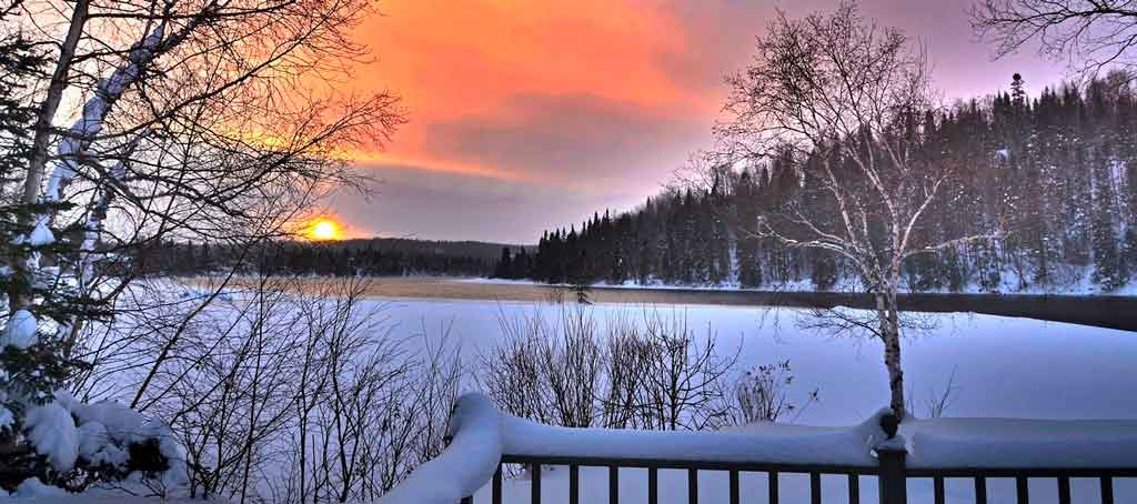 Quebec Canada inverno