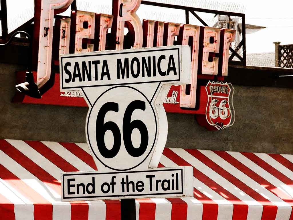 Santa Monica California onde fica