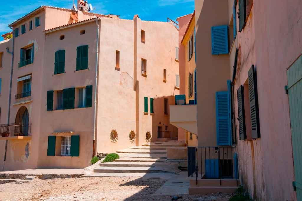 St Tropez centro historico