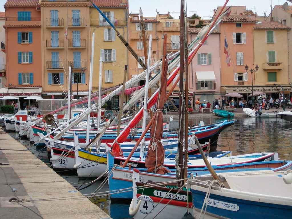 St Tropez em um dia