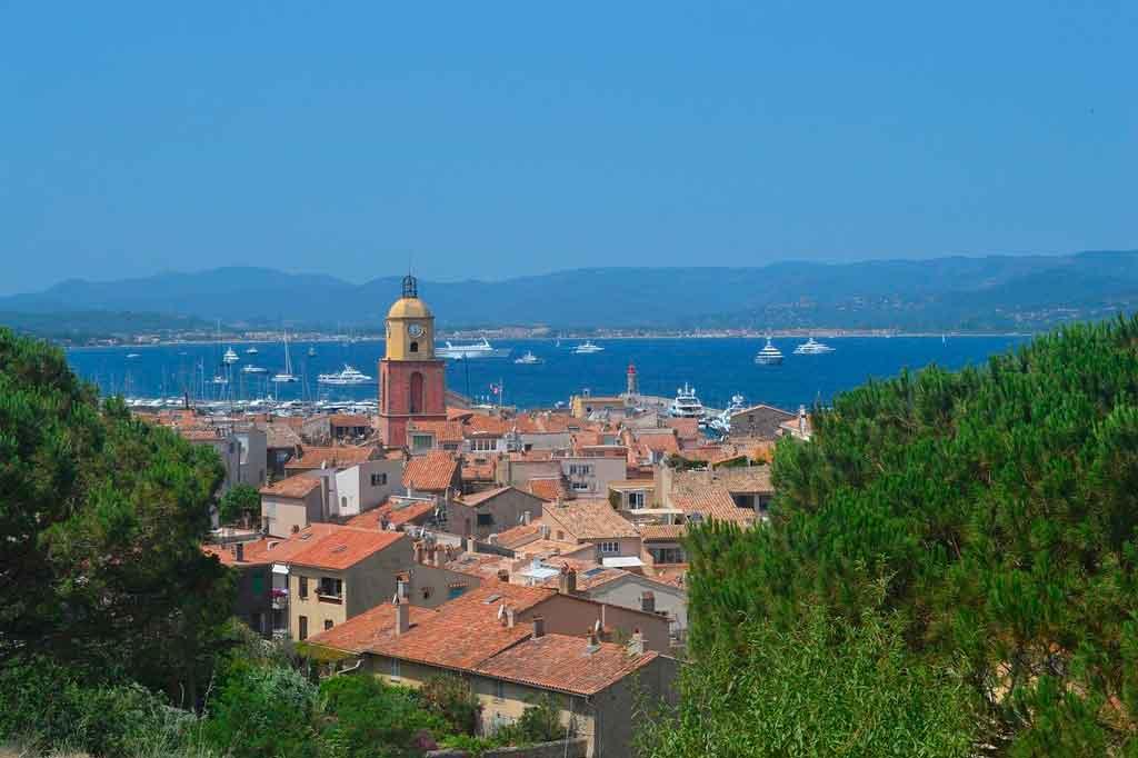 St Tropez onde fica