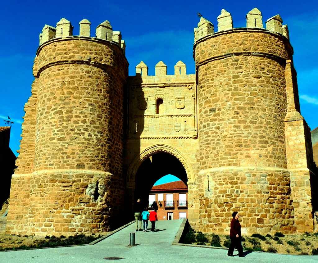 Toledo Espanha puerta de bisagra