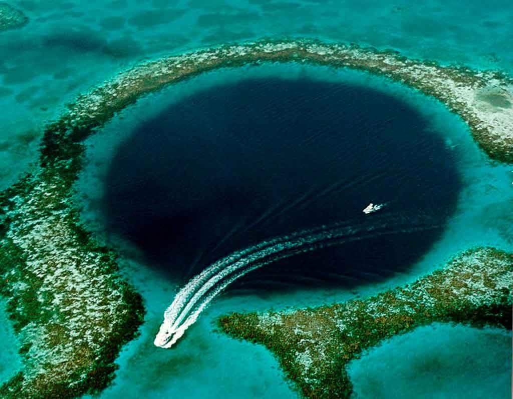 Belize país grat blue hole