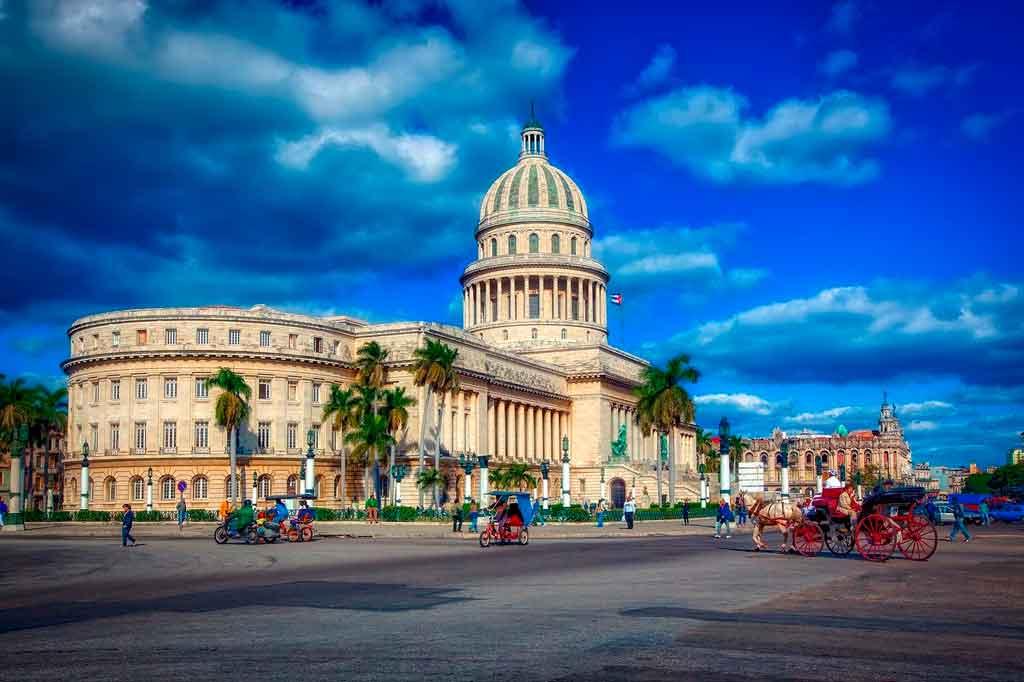 Capital de Cuba: Capitólio