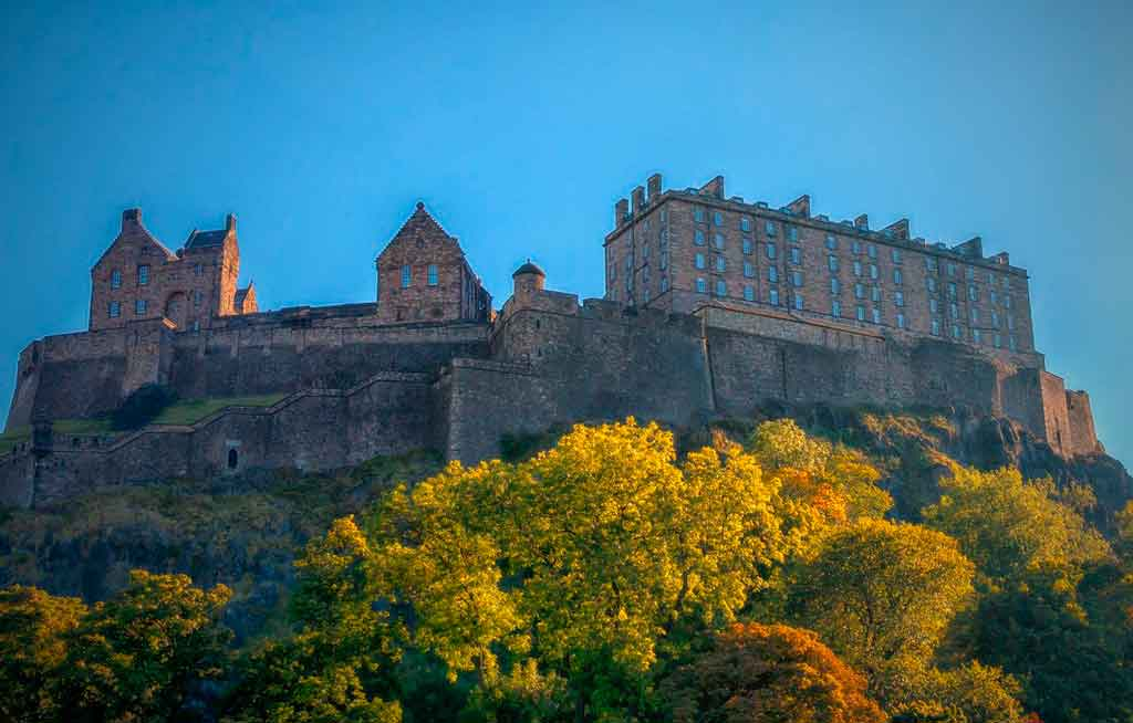 Castelo de Edimburgo Palácio Real