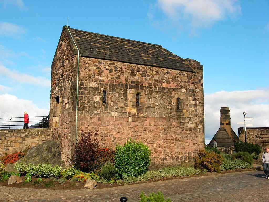 Castelo de Edimburgo capela de santa margarita