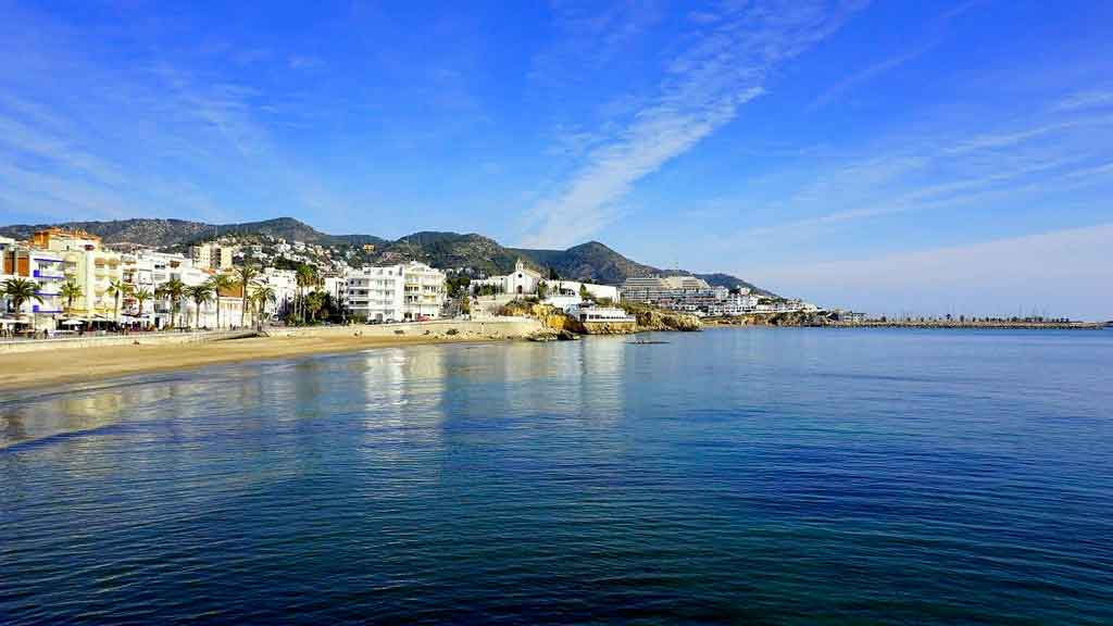 Cidades da Catalunha Sitges