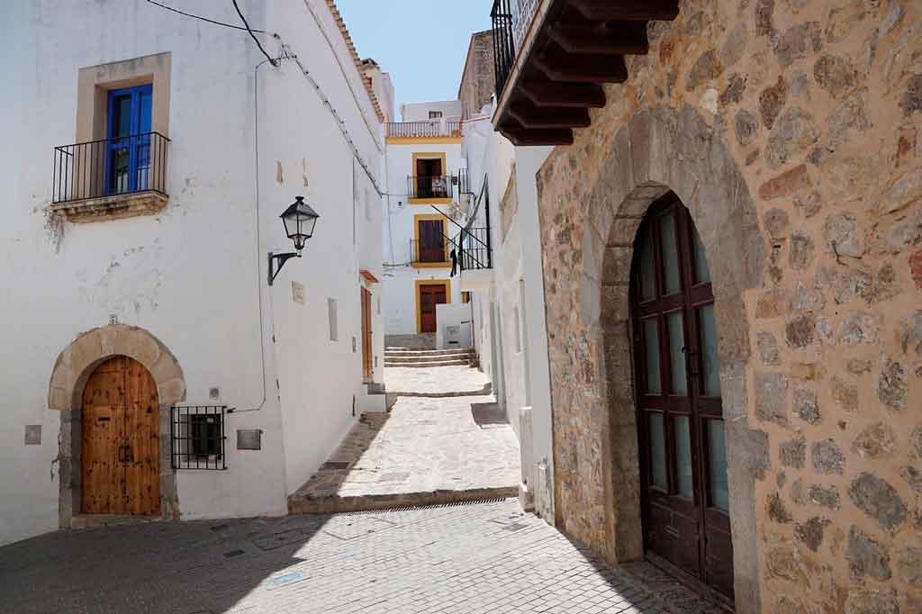 Ibiza Espanha centro historico