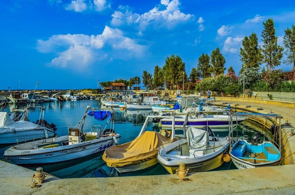 Ilha de Chipre praia do Cirenia
