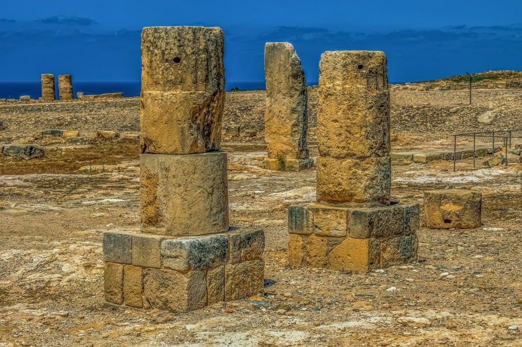 Ilha de Chipre santuário de afrodite