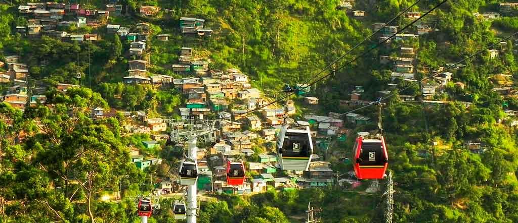 O que fazer em Medellin Metrocable