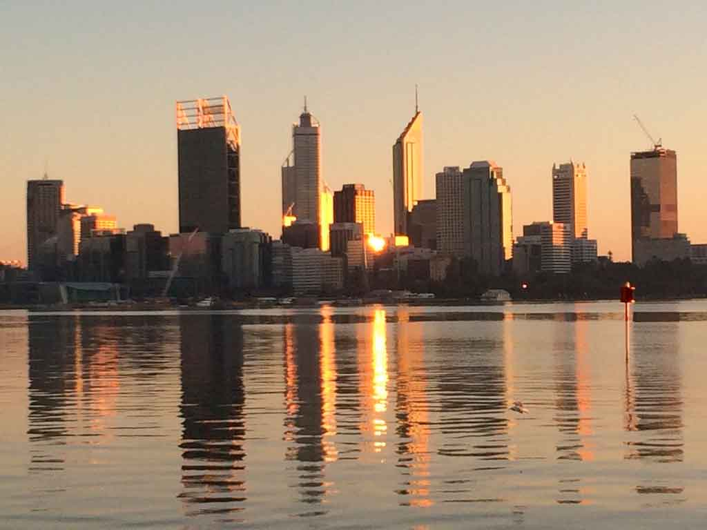 Perth Austrália intercâmbio