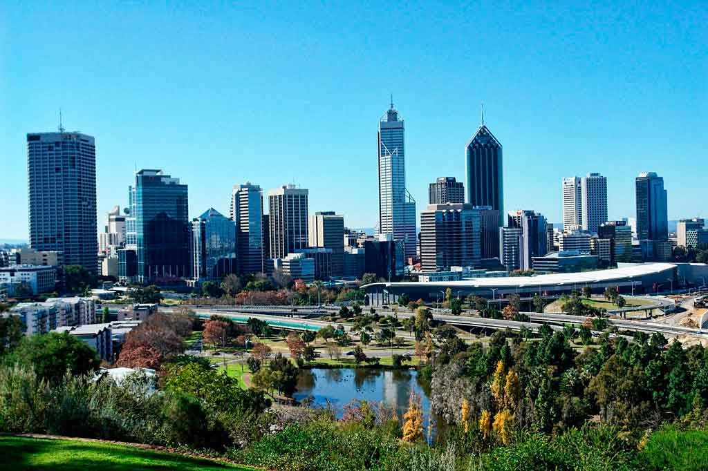 Perth Austrália kings park