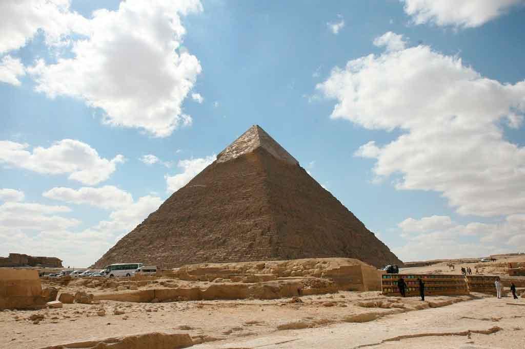 Pirâmides do Egito qual a mais antiga