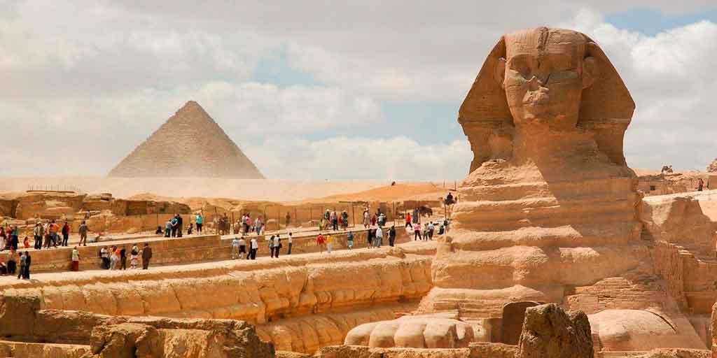 Pirâmides do Egito esfinge