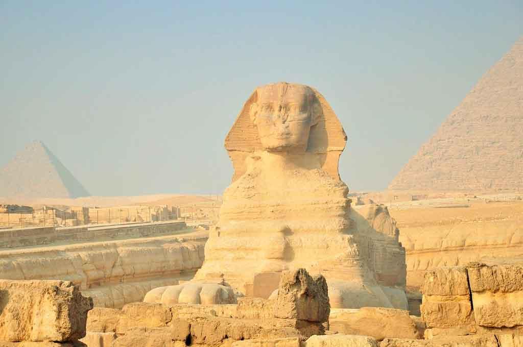 Pirâmides do Egito 7 maravilhas do mundo