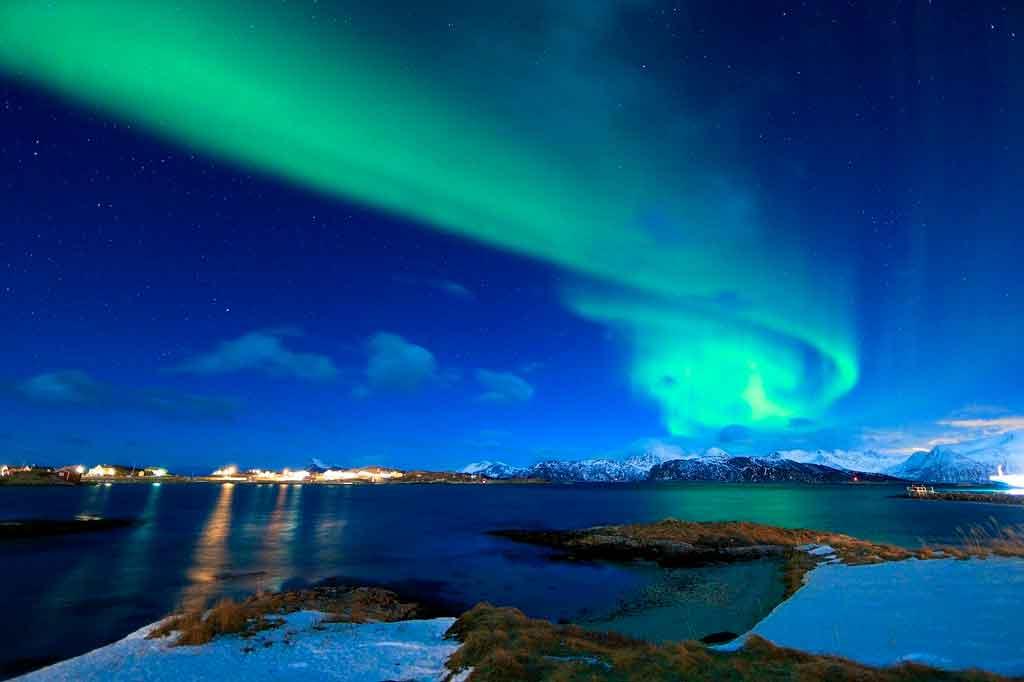 Tromso Noruega aurora boreal