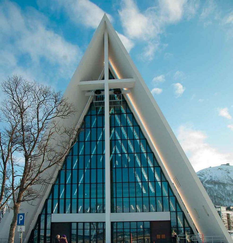 Tromso Noruega Catedral do Ártico