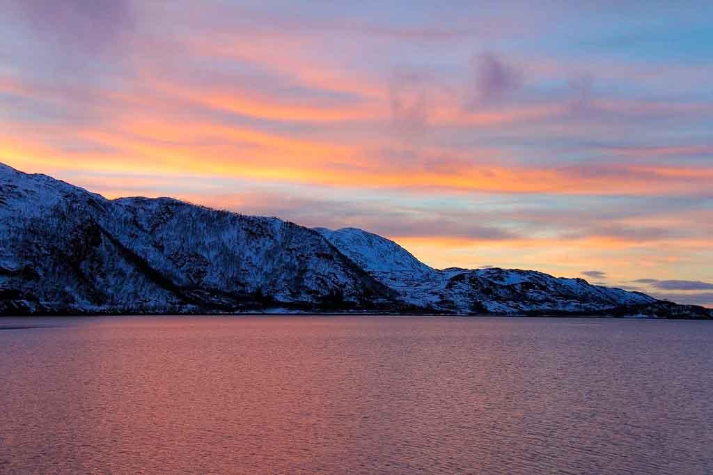 Tromso Noruega passeio pelas Fiordes