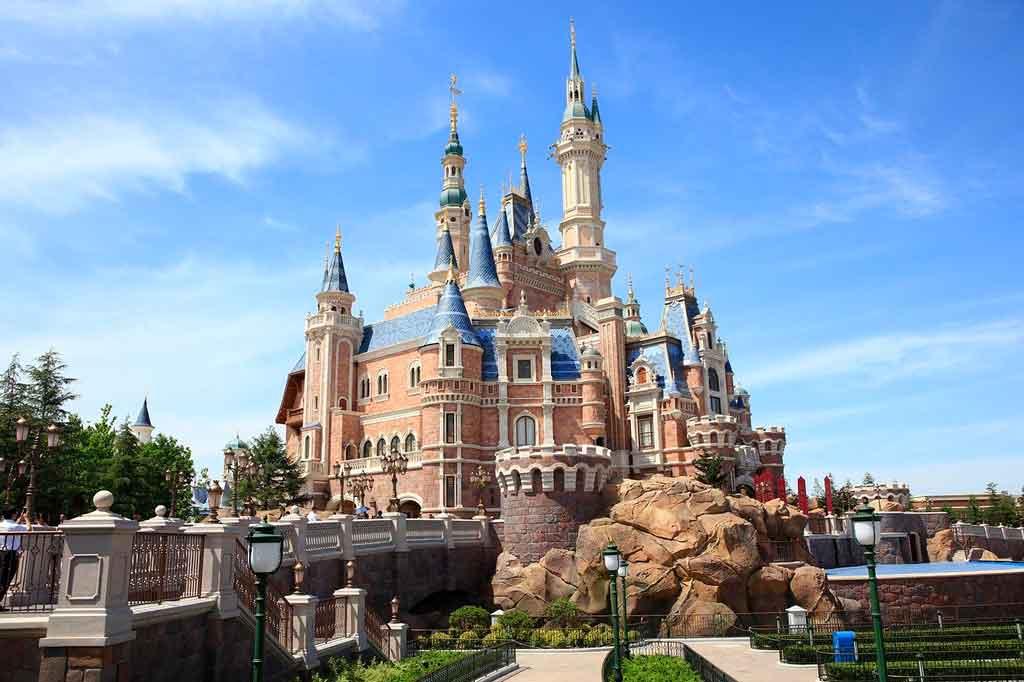 Xangai China Disneylandia Park