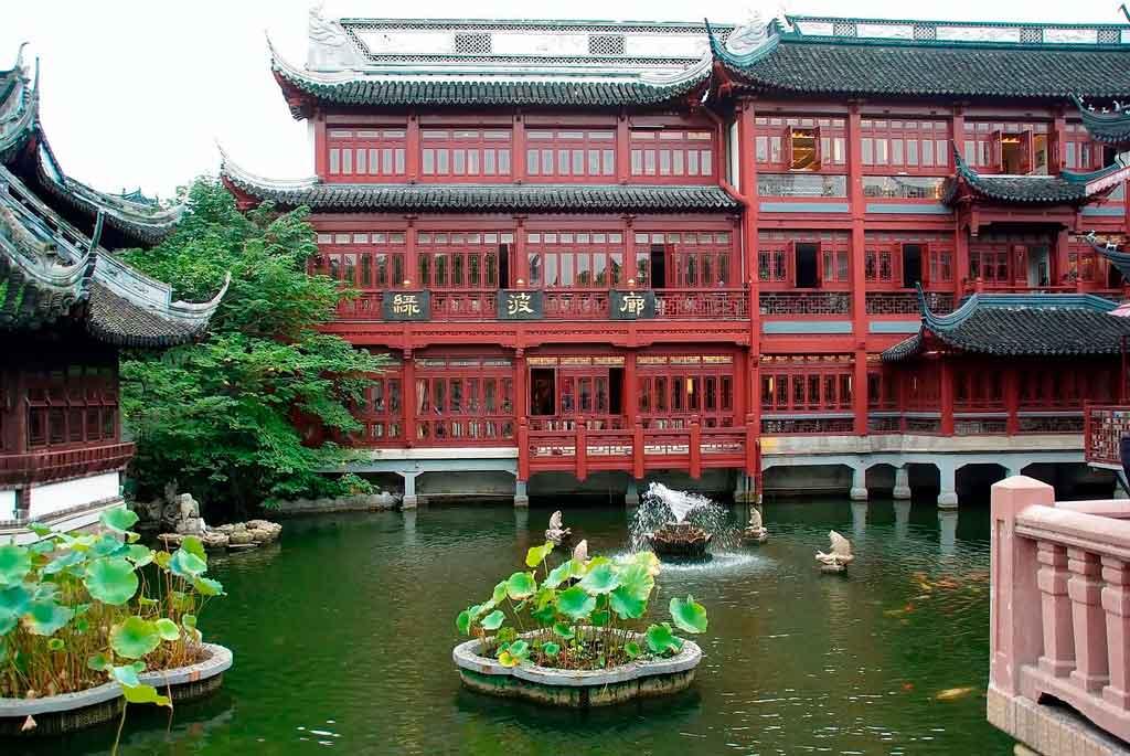 Xangai China Jardim Yuyuan