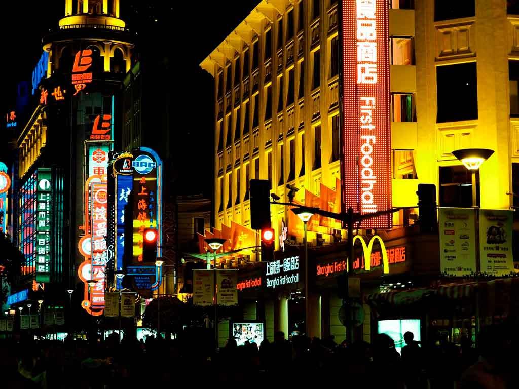 Xangai China onde fica