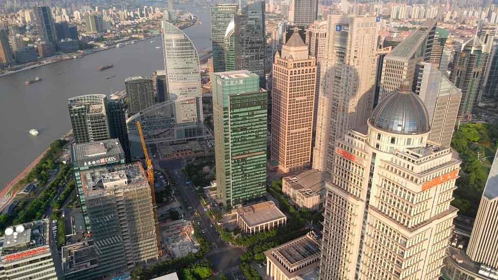 Xangai China The Bund