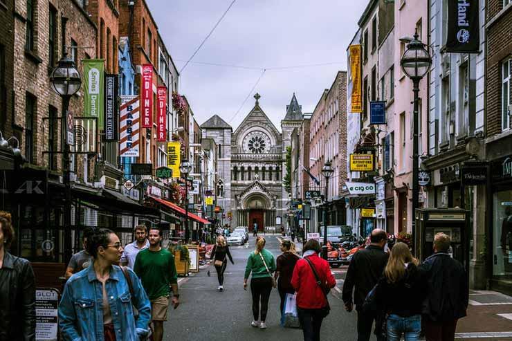 Capital da Irlanda do Norte a Dublin