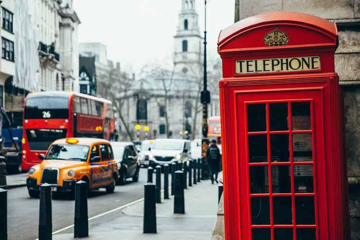 Capital da Irlanda do Norte a Londres