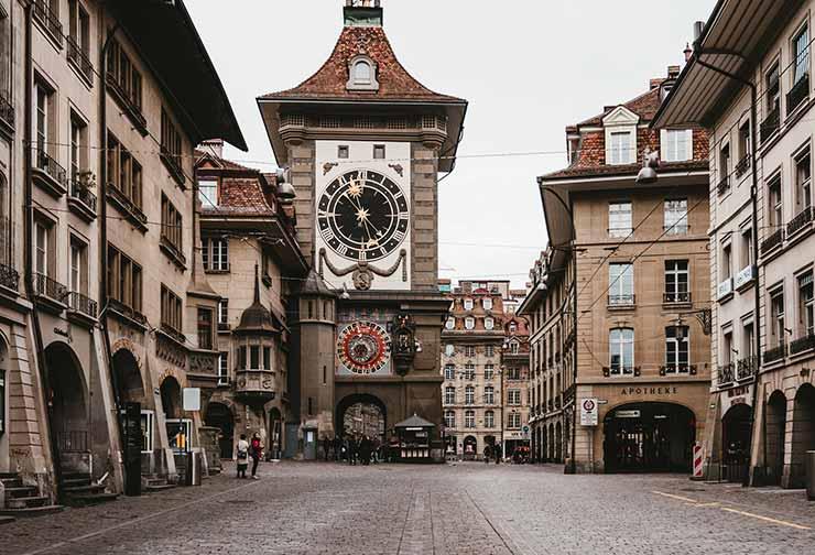 Centro Velho em Berna