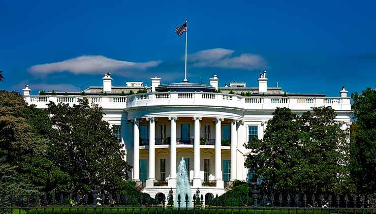 Capital dos Estados Unidos: Casa Branca