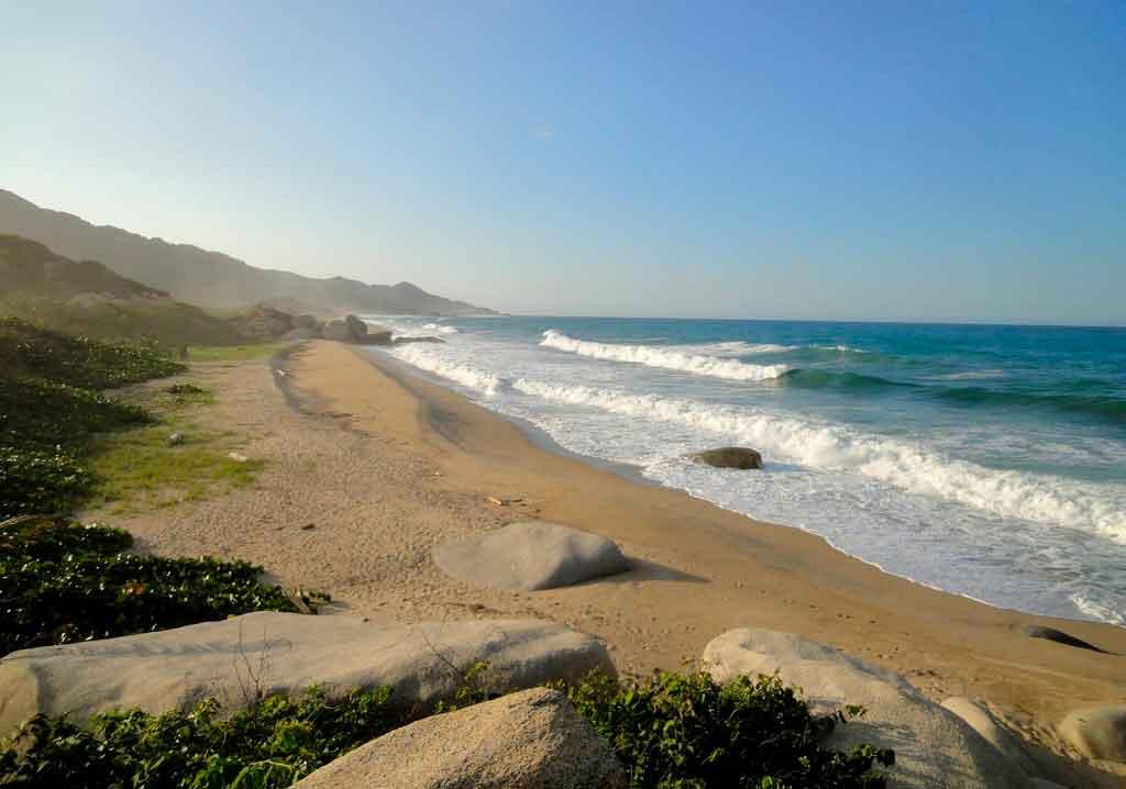 Praias de Cartagena Colombia