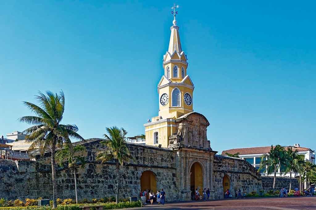 Cartagena Colombia torre del reloj