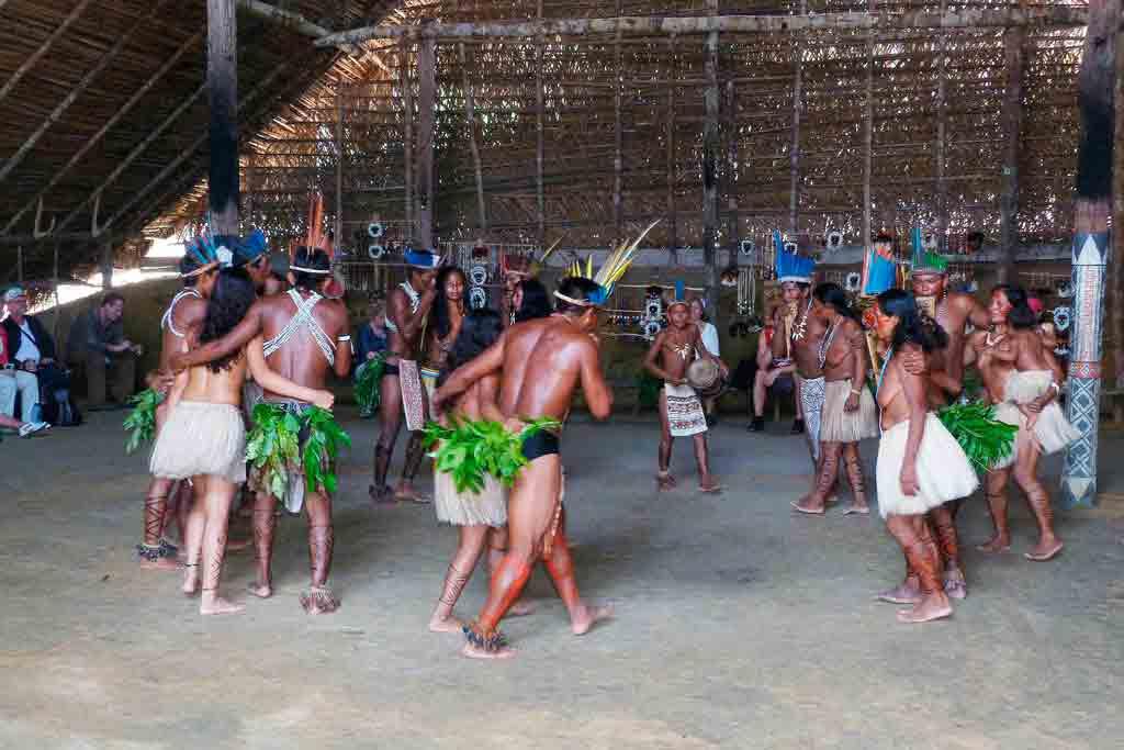 Danças Brasileiras de origem indígena