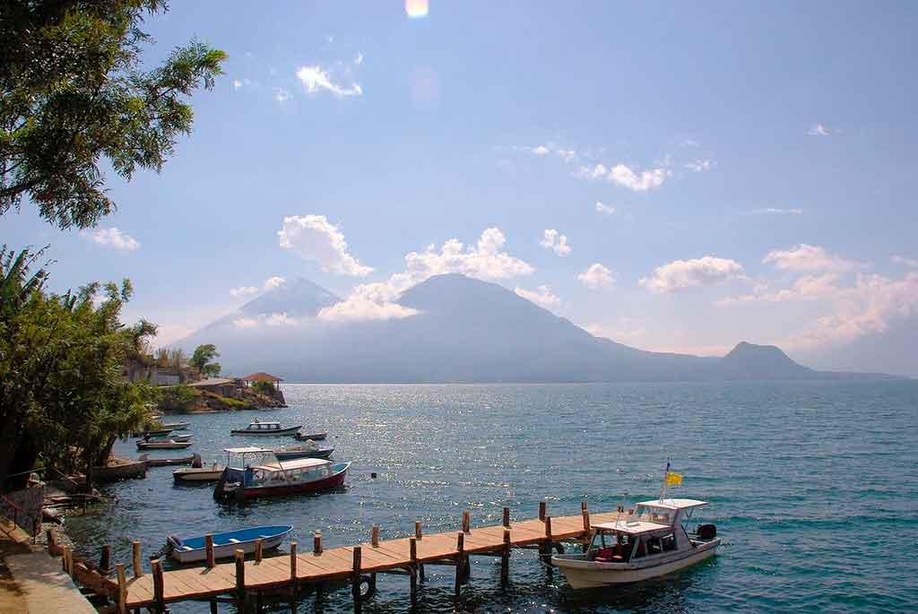 Mapa Guatemala: Lago Atitlán