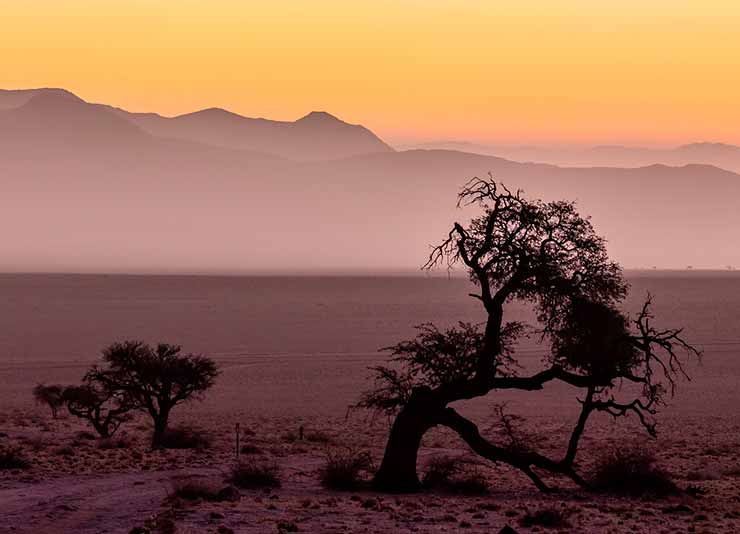 Onde fica a Namibia