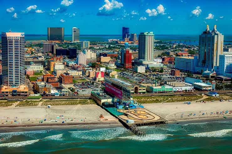 Praias em Nova Jersey