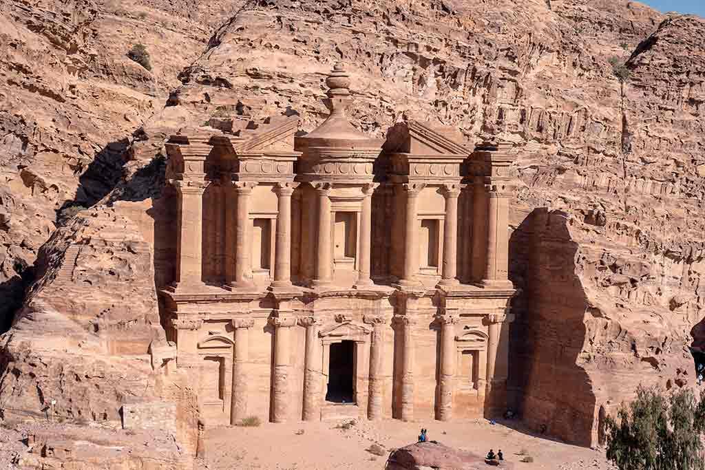 Petra, Jordânia: Monastério Al Deir