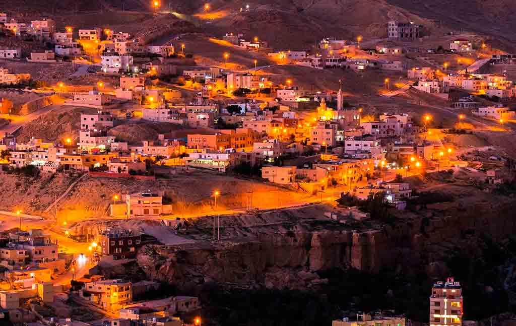 Onde fica Petra, Jordânia?