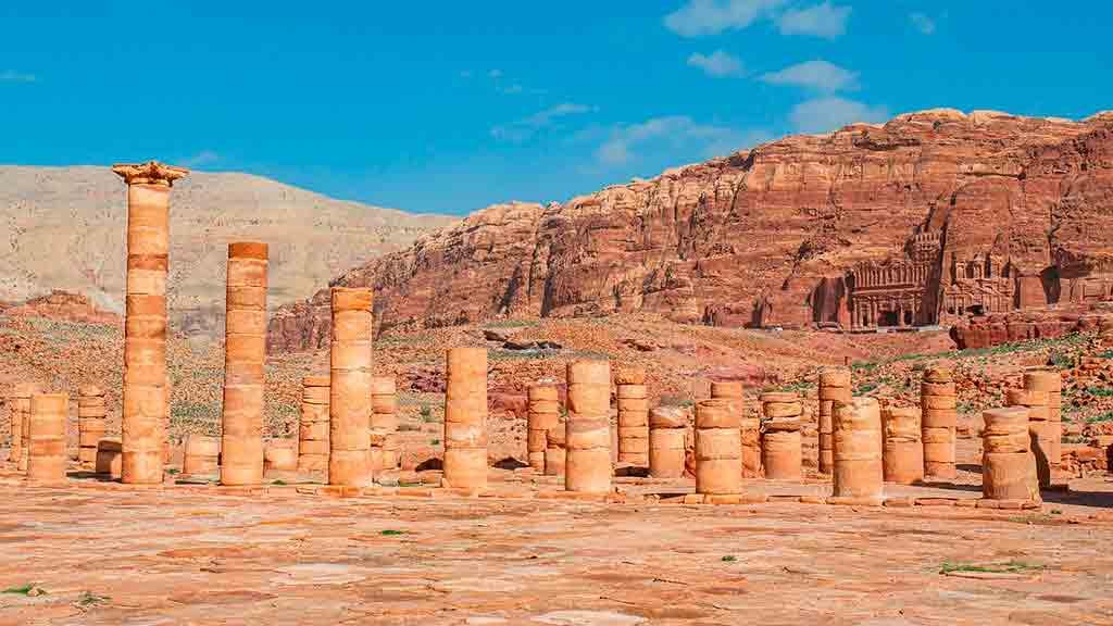 Quem construiu Petra, Jordânia