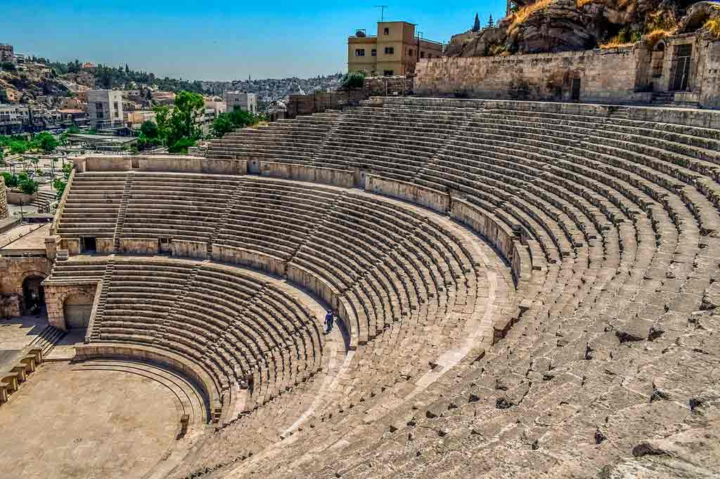 Petra, Jordânia: Teatro Romano