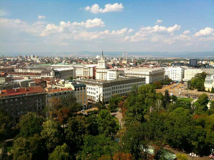 Onde fica Sofia Bulgaria