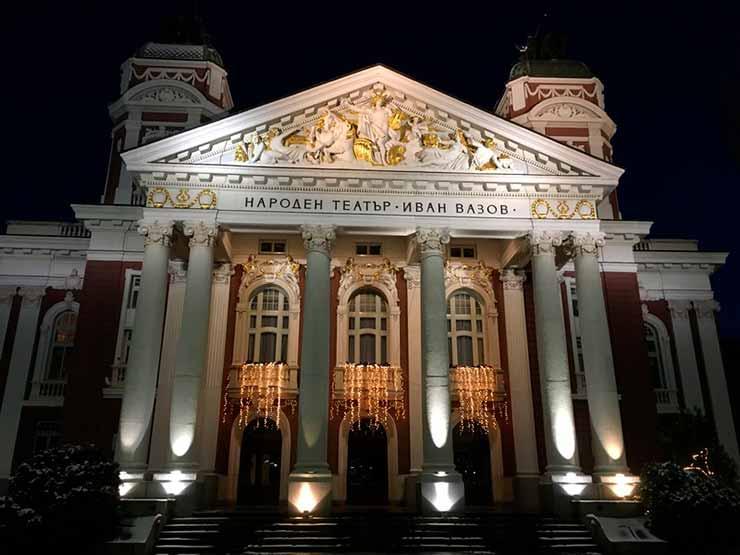 Teatros em Sofia