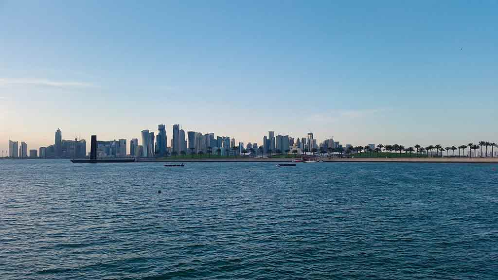 Doha, Catar: West Bay