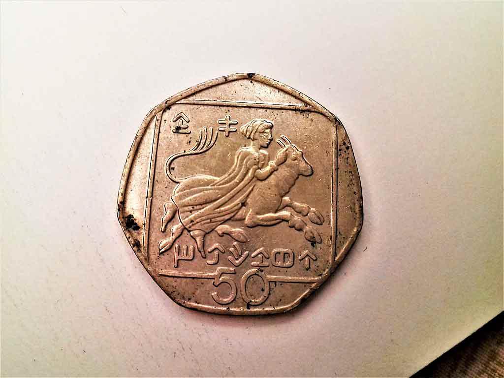 Qual é a moeda do Chipre?